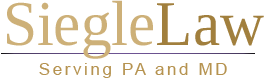 Siegle Law of Hanover and York PA